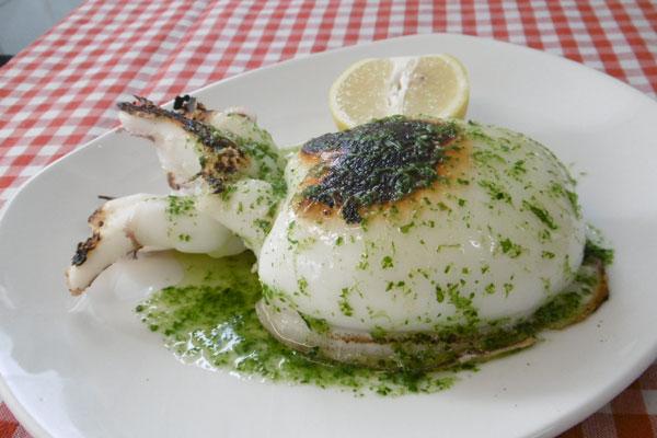 Sepionet a la plancha tapas del restaurante chaparral for Cuisine 0 la plancha